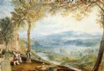 kirby londsale churchyard by joseph mallord william turner watercolor paintings