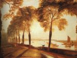 turner famous paintings - mortlake terrace by joseph mallord william turner