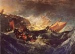 turner famous paintings - the wreck of a transport ship by joseph mallord william turner