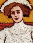 jozsef rippl ronai acrylic paintings - zora in a broad by jozsef rippl ronai