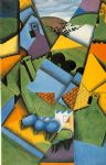 landscape with houses at ceret by juan gris painting