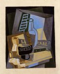 juan gris still life in front of the wiindow painting 29888