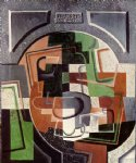 juan gris still life on plaque painting 29890