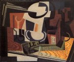 juan gris still life with fruit bowl painting 29896