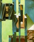 juan gris acrylic paintings - the guitar by juan gris