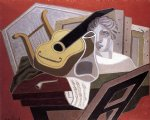 music art - the musician s table by juan gris