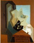 juan gris acrylic paintings - the painter s window by juan gris