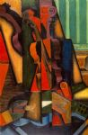 juan gris acrylic paintings - violin and guitar by juan gris