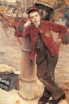 jules bastien lepage watercolor paintings - london bootblack by jules bastien lepage