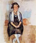 jules pascin art - a lady from matigues by jules pascin