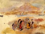 jules pascin art - at la goulette by jules pascin