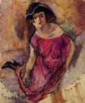 jules pascin beautiful english girl painting 29654