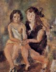 jules pascin art - clara and genevieve by jules pascin