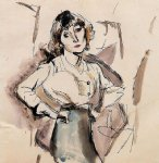 hermine david by jules pascin art