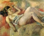 nude sleeping by jules pascin art