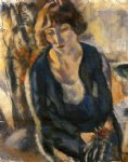 jules pascin portrait of hermine david ii painting-29703
