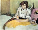 jules pascin famous paintings - portrait of hermine david iii by jules pascin