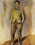 jules pascin portrait of jean oberle painting-29706