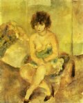 jules pascin portrait of lucy krohg painting-29708