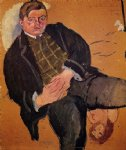 jules pascin portrait of william howard painting-29710