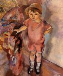 young boy by jules pascin painting