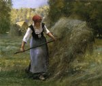 julien dupre art - the haymaker by julien dupre