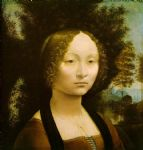 leonardo da vinci portrait of ginevra benci paintings