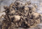 leonardo da vinci the battle of anghiari prints