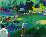 leroy neiman art - 16th at augusta by leroy neiman
