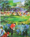 leroy neiman art - 18th at valhalla by leroy neiman