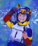 2005 special olympics nagano by leroy neiman paintings