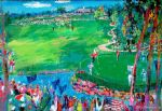 leroy neiman art - 37th ryder cup by leroy neiman
