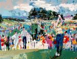 april at augusta by leroy neiman famous paintings