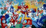 archie ohio state buckeye suite by leroy neiman paintings