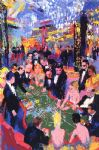 baccarat by leroy neiman famous paintings
