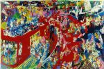 bar at 21 by leroy neiman famous paintings