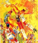 basketball superstars by leroy neiman paintings