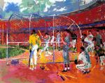 bay area baseball by leroy neiman paintings
