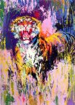 leroy neiman bengal tiger painting 77575