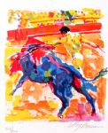 leroy neiman bullfight painting