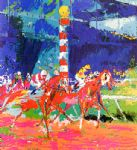 clubhouse turn by leroy neiman paintings