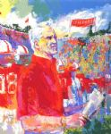 coach bill walsh by leroy neiman paintings