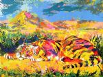 delacroix s tiger by leroy neiman paintings