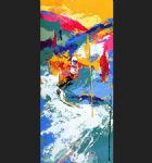 downhill by leroy neiman paintings