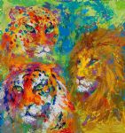 family portrait by leroy neiman paintings