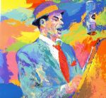 frank sinatra by leroy neiman painting
