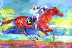 funny art - funny cide by leroy neiman