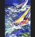 leroy neiman high seas sailing ii prints