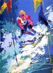 leroy neiman original paintings - innsbruck by leroy neiman