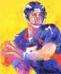 leroy neiman original paintings - john elway by leroy neiman